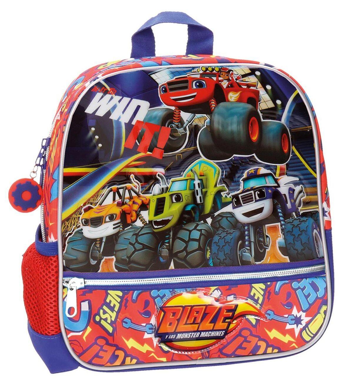Backpack preschool adaptable to cart blase win