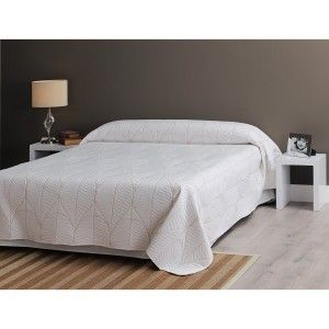 Quilt Bouti Ivory made in Polyester