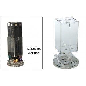 Porta capsules Nesspresso chrome metal