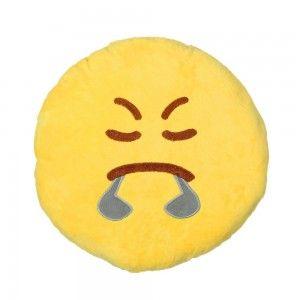 Cushion Angry yellow