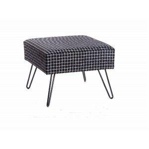 Furniture descalzador of wood and metal