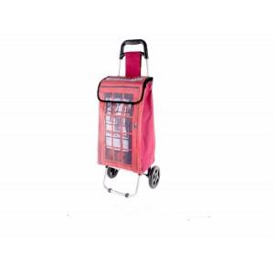 Shopping cart polyester metal