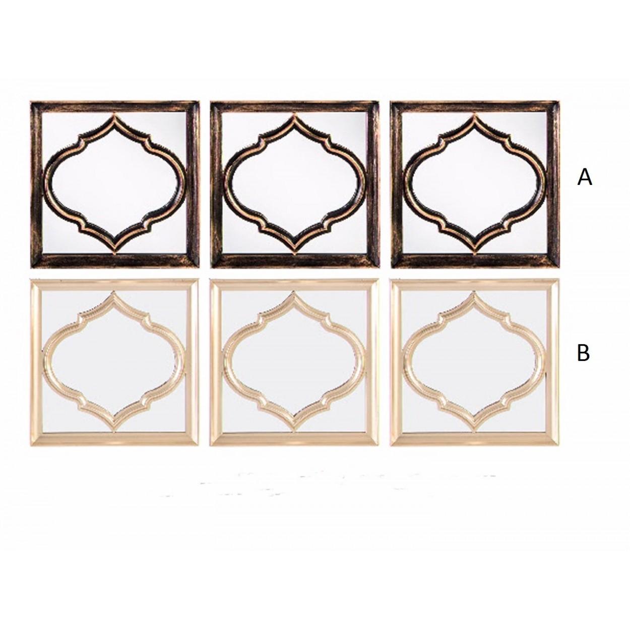 Espejo de pared estilo etnico set de 3 hogar y m s - Espejos etnicos ...