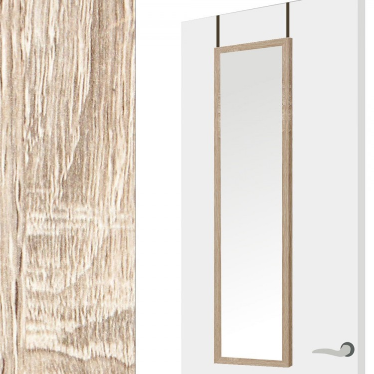 Espejo para puerta natural