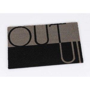 Door mat in out