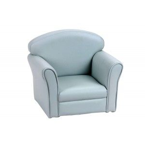Armchair club blue