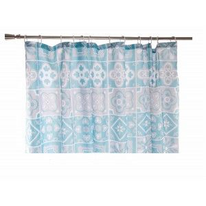 Shower curtain made of polyester style ethnic