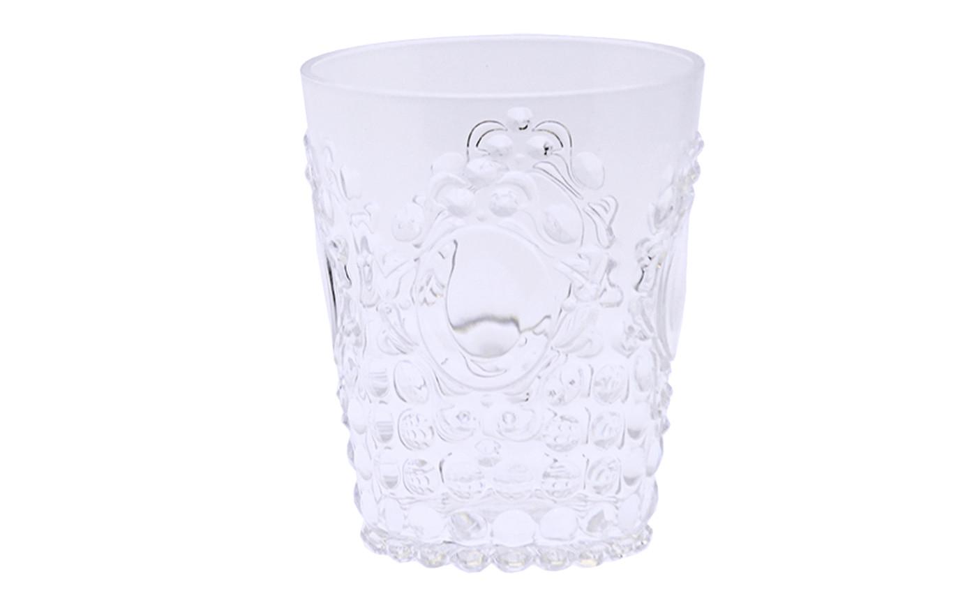 Glass for bathroom acrylic. Transparent