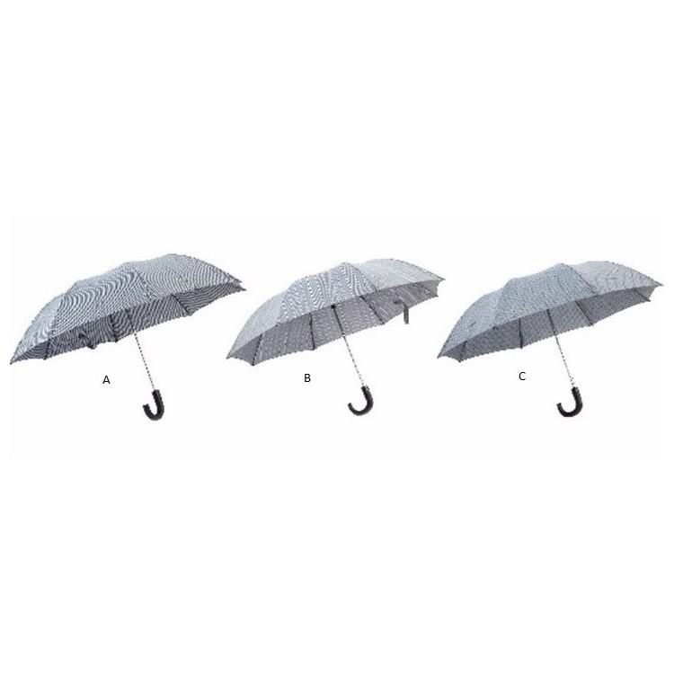 Paraguas Pongee Automático Aluminio