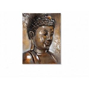 Box hand painted buddha