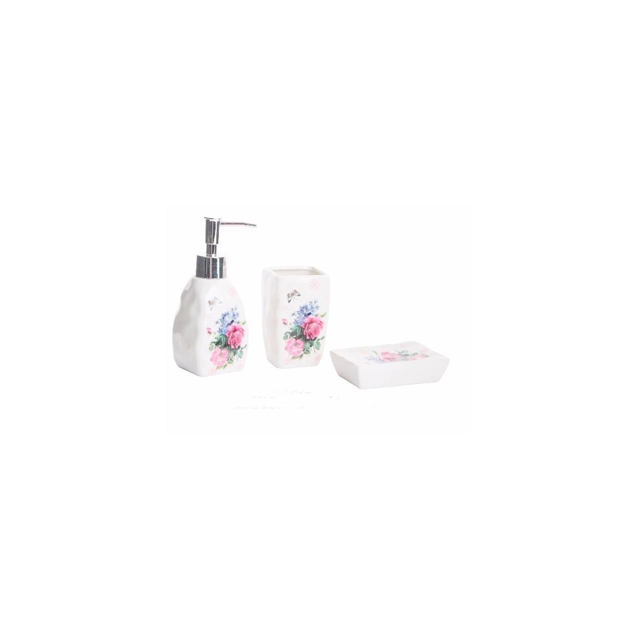 Comprar conjunto de ba o en porcelana para tu hogar for Conjunto de accesorios para bano