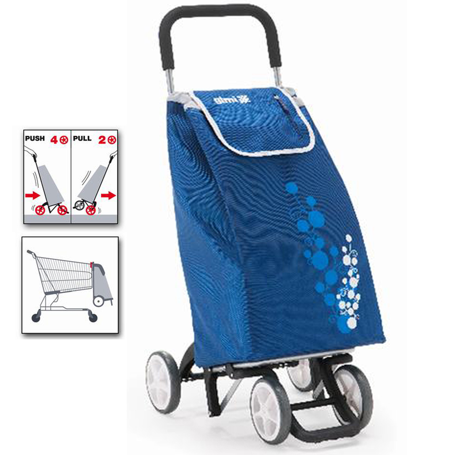 Cart for Purchase Blue