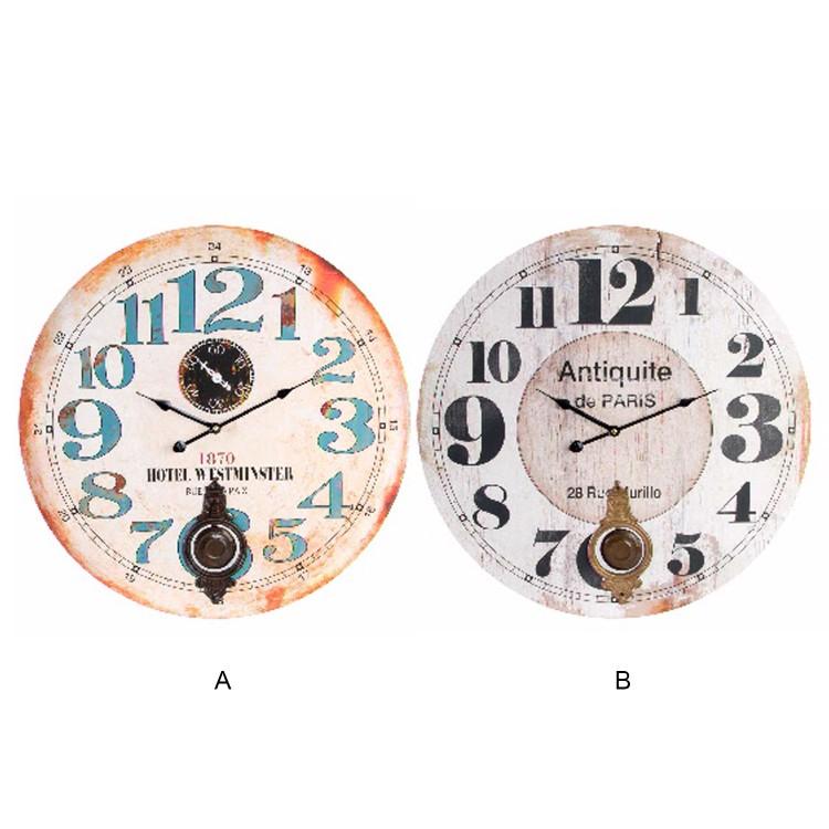 Reloj de Pared. Numérico Péndulo , Hogar y Mas