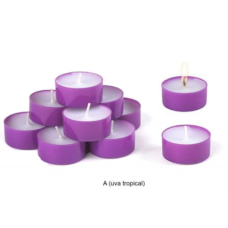 Pack de 10 velas perfumadas varios olores hogar y m s - Velas perfumadas ...
