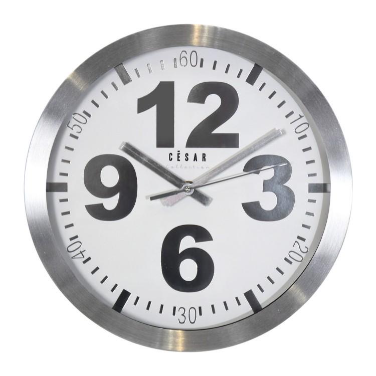 Reloj de Pared de Aluminio
