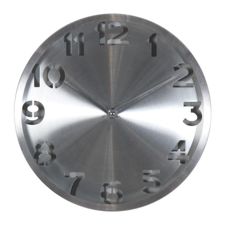 Reloj de Aluminio. De pared
