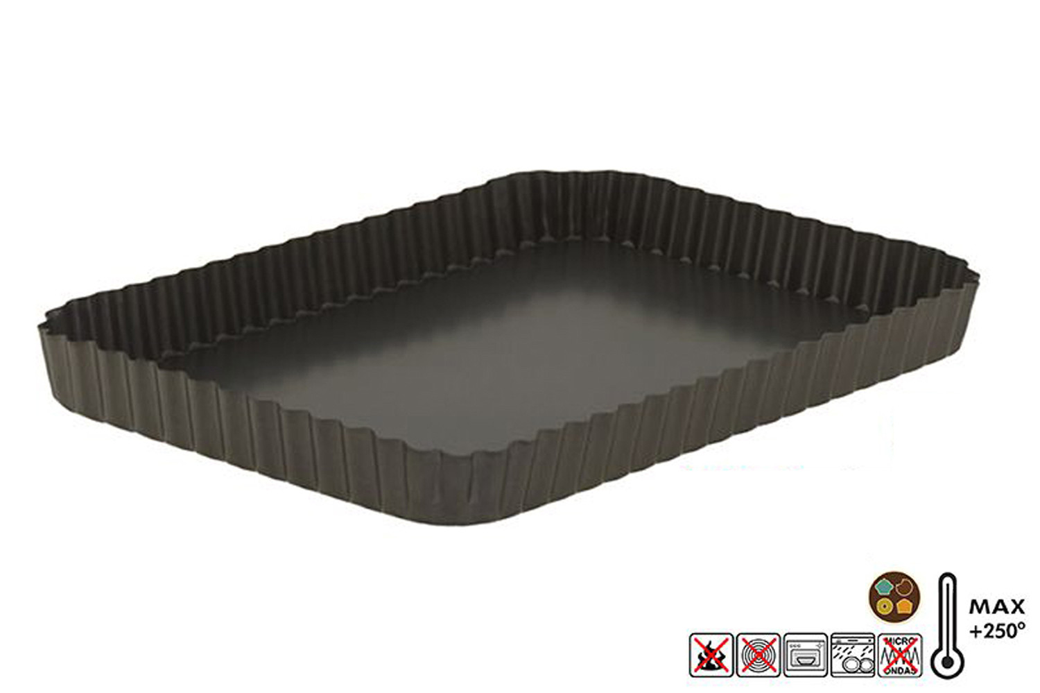 Tray for the Oven Desmoldable