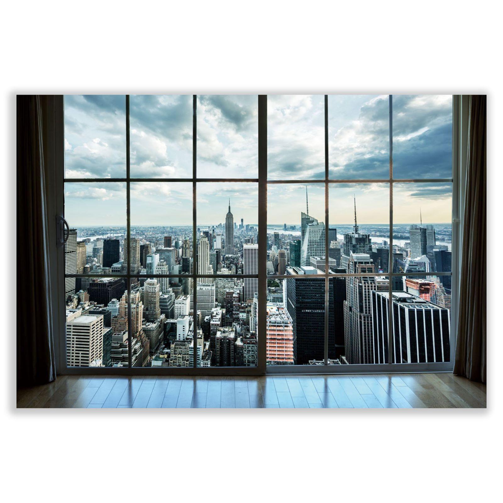 Cuadro fotoimpresión sobre lienzo , montado sobre bastidor de madera de abeto, New York