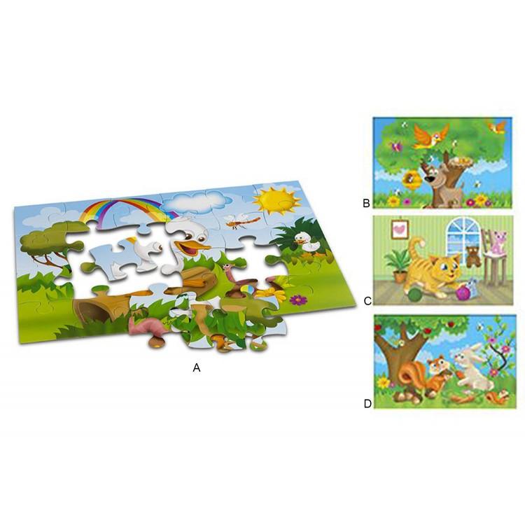 Puzzle 24 Piezas Infantil. 4 modelos