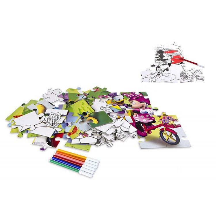 Puzzle 48 Piezas Coloreable. 2 Caras