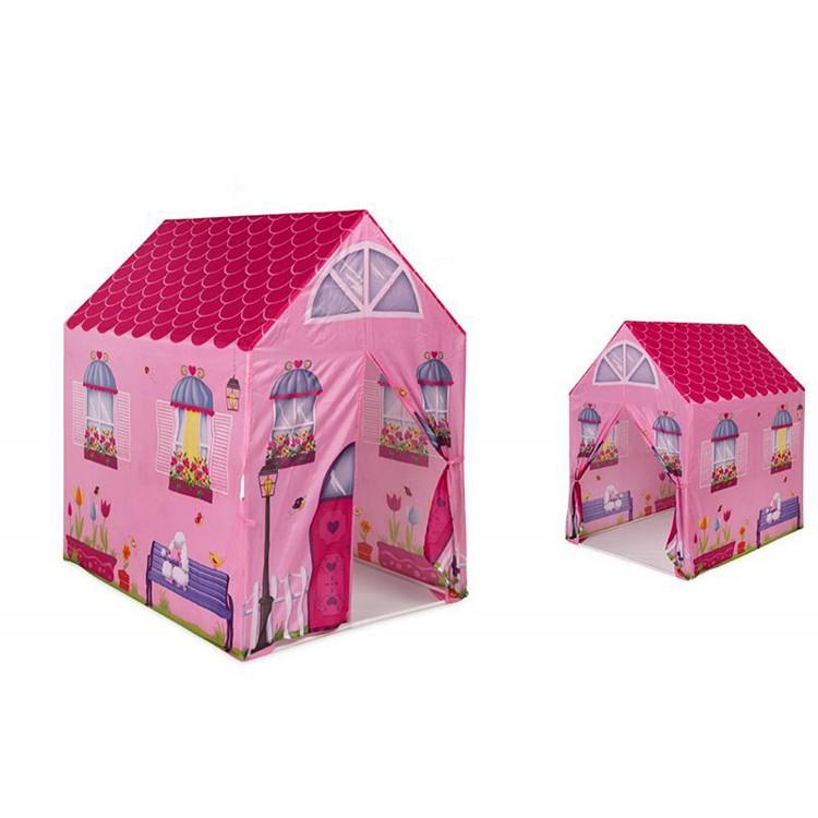 Casa Rosa. Tienda de Campaña Infantil