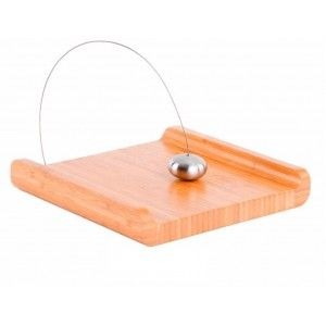 Napkin holder Modern Bamboo and Stainless steel