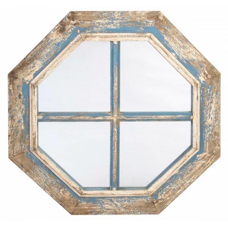 Espejo de pared en madera