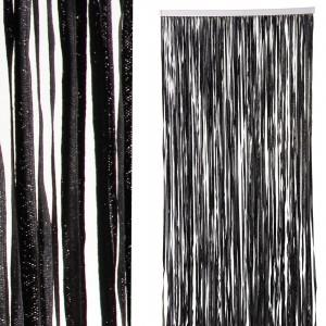 Cortina de puerta Neembucu negra