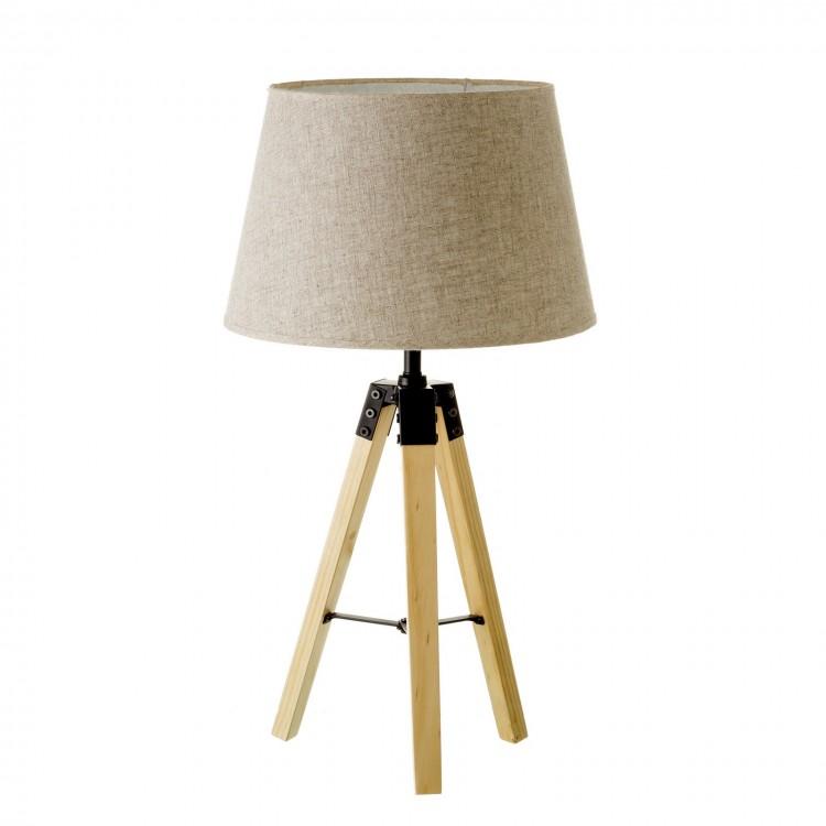 Lámpara de mesa con base trípode