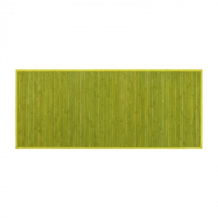 Alfombra de Bambú de color verde