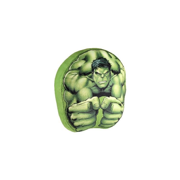 Cojín 3d Motivo Hulk de Marvel