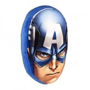 Cojín 3D Motivo de Capitán América Marbel