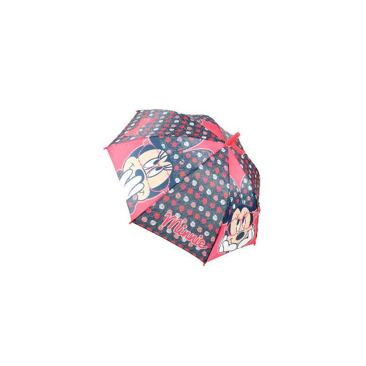 Paraguas Infantil Automático Premium con la Imagen de Minnie