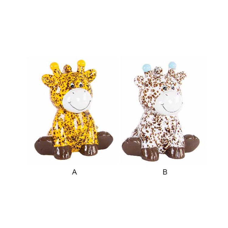 Hucha de jirafa de Cerámica originales 2 modelos