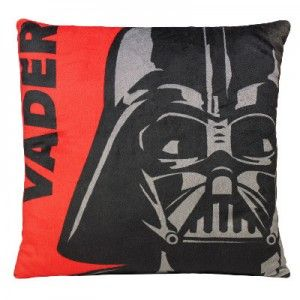 Cushion Child with an Image of Darth Vader from Star Wars.