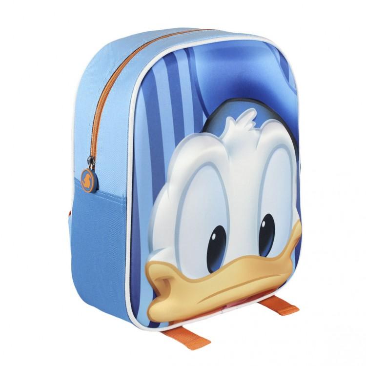 Mochila Infantil con Diseño en 3D de una imagen de Donald