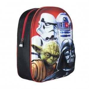 Children's backpack 3D Design with Images of Star Wars