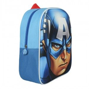 Children's backpack 3D Design with Images of Captain America