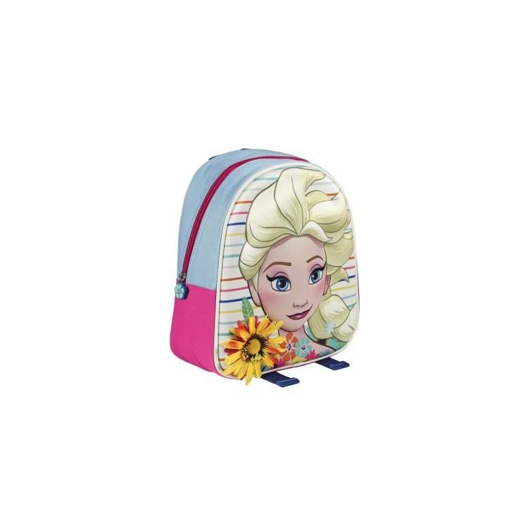 Mochila Frozen Original Diseño 3D Aplicación