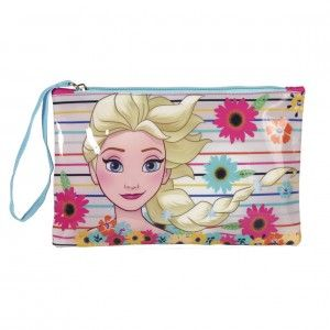 Bag Children Zipper Image Frozen