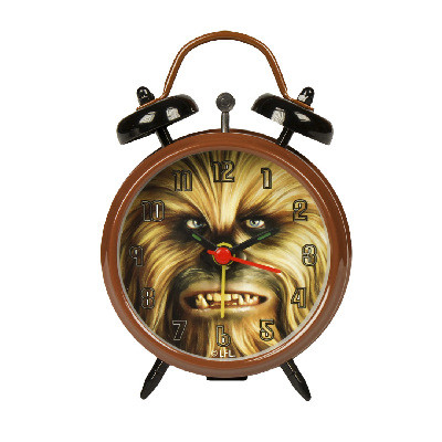 Reloj despertador con imagenChewbacca Star Wars