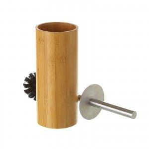 Escobillero original de bambú