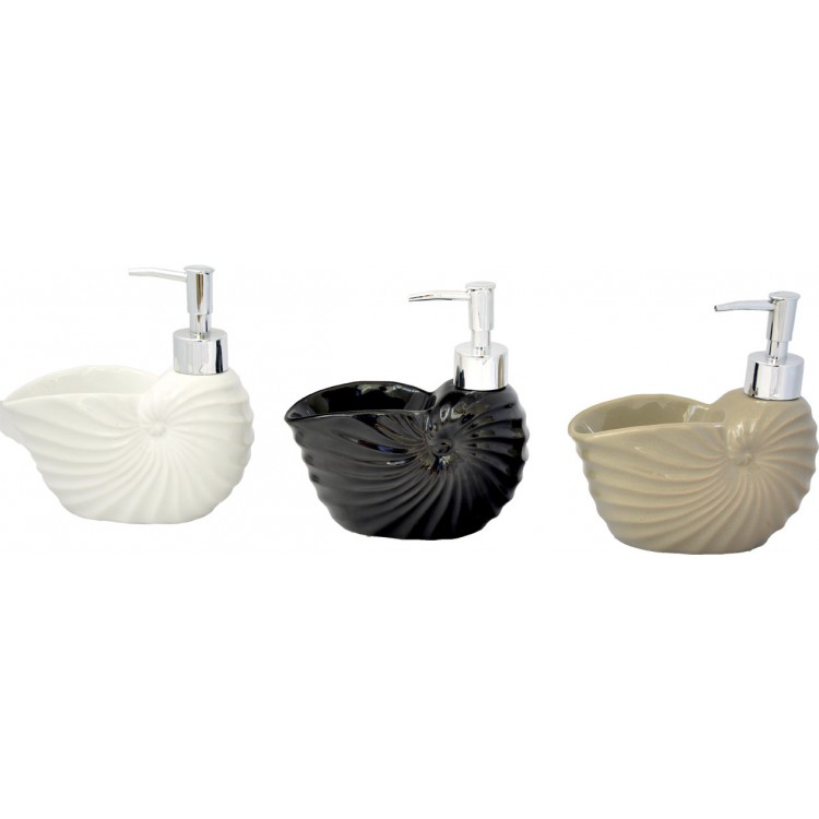 Dosificador de Jabón Forma Caracol para Baño