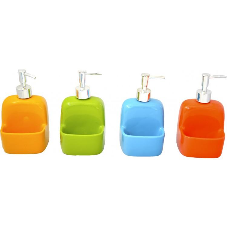 Dosificador de Jabón de Cerámica para Baño, Hogar y Mas
