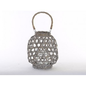Candle holders Wicker Natural Ethnic Design