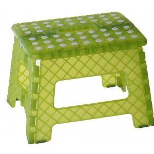 Taburete Plegable Diseño Original PVC Verde