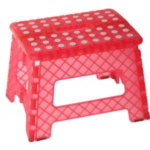 Folding stool Design Original PVC Red