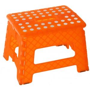 Folding stool Design Original PVC Orange