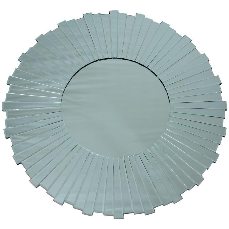 Espejo de pared original redondo de cristal