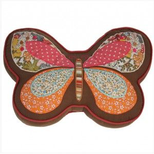 Cushion Fabric Butterfly Colors Original Design